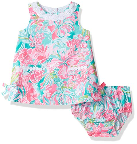 Lilly Pulitzer Girls Baby Lilly Shift Multi HOT ON The Scene, 36