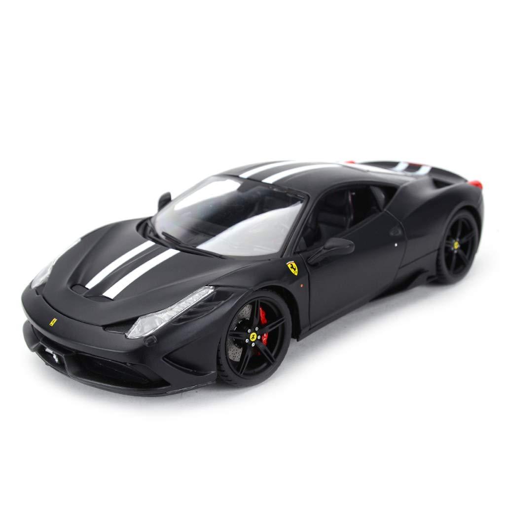 FLYSXP Auto Modello di Auto 1 18 Ferrari 458 Speciale Lega di Simulazione Die-Casting Giocattolo Gioielli Collezione di Auto Sportive Gioielli 26x11.3x6.2 cm Modello di Auto