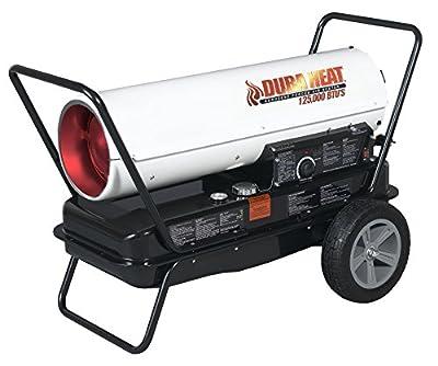 DuraHeat DFA125T 125,000-BTU Kerosene Portable Forced-Air Heater with Thermostat