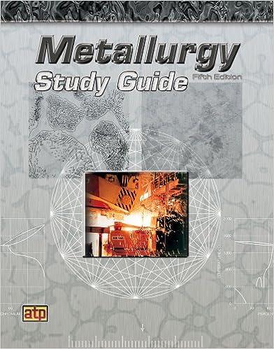 Metallurgy Study Guide Atp Staff 9780826935236 Amazon Books