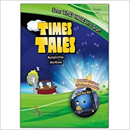 Book Times Tales Multiplication Workbook with DVD Game Show Quiz