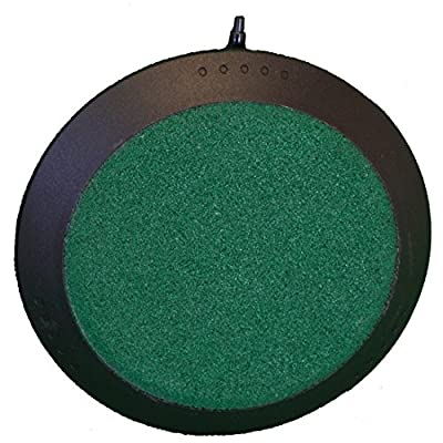 Deluxe 4 Inch Round Air Stone for Hydroponic Systems, Fresh Water & Saltwater Aquariums, Aquaculture, & Terrariums!