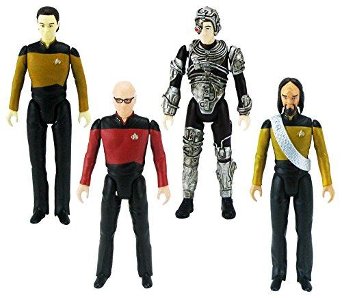 Bif Bang Pow! The Big Bang Theory/Star Trek: The Next Generation Figures Set, 3 (Star Trek Figurines)