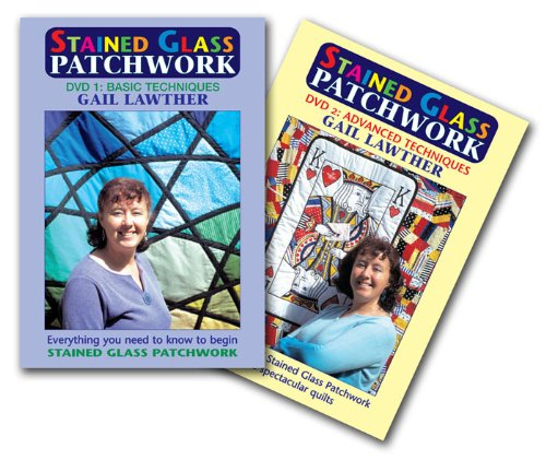 Stained Glass Patchwork 1 and 2 DVD Boxset ()
