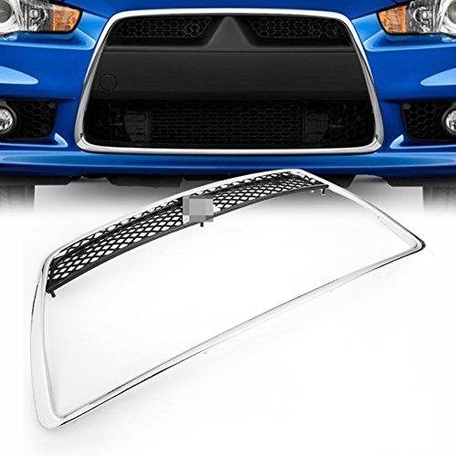 chrome-abs-front-bumper-center-insert-grille-grill-overlay-for-2008-2011-mitsubishi-lancer-sedan-bra