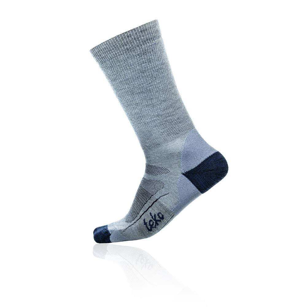 Teko Mens Merino Wool SIN3RGI Blend Light Cushion Crew Height Socks