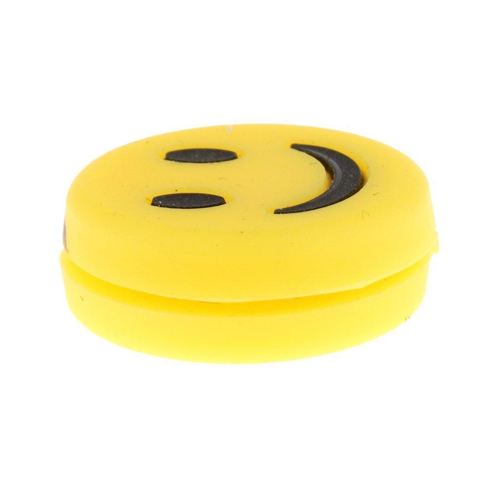 /chocie von Farben Gelb Smile SGerste 6/St/ück Tennis Vibration D/ämpfer/