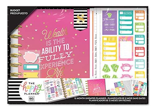 Me & My Big Ideas BOX-188 The Happy Planner Box Kit Budget
