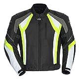Cortech VRX Jacket (X-LARGE) (BLACK/HI-VIZ/WHITE)
