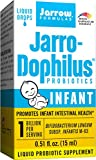 Jarrow Formulas, Jarro Dophilus Infant, 0.51 Fl Ounces (15 Milligrams). Pack of 1