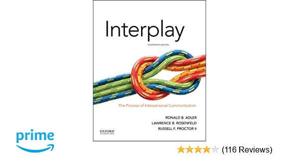 Interplay the process of interpersonal communication 9780190646257 interplay the process of interpersonal communication 9780190646257 communication books amazon fandeluxe Images
