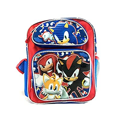 Sonic Team Tail, Shadow, Knuckles 16 Large Backpack | Kids' Backpacks