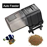 FOCUSPET Fish Feeder, Automatic Fish Feeder Battery Operated Aquarium Tank Auto Fish Food Feeder Timer Dispenser for Small Fish,Tropical Fish, Gold Fish