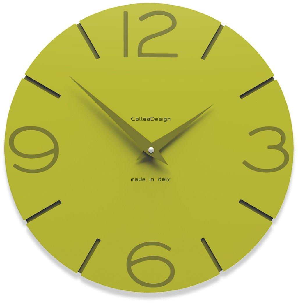 CalleaDesign 壁時計 Smile (緑の杉) B00ZC1XFBI 緑の杉 緑の杉