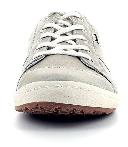 Josef Seibel 7565072713 Scarpa Casual In Pelle Da Donna Caspian, Scarpa Estiva, Scarpa Stringata, Sneaker Grigio (710)