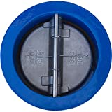 2'', 2-1/2'', 3'', 4'', 5'', 6'', 8'',10'',12'', 14'' Wafer Check Valve for Irrigation, Stainless Steel Disc, EPDM Seal, Epoxy Coating Cast Iron Body, 2 Year Warranty, by Zotexa (4'')