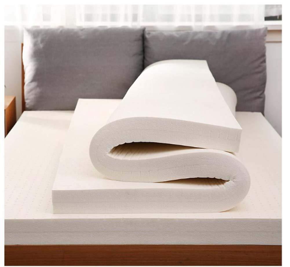 2cm 120x190cm(47x75inch) Latex Mattress Pad King Hypoallergenic, Bedroom Sofa Tatami Hotel- Thai Latex Mattress for Household Sleep Supportive & Pressure Relief,2cm,120x190cm(47x75inch)