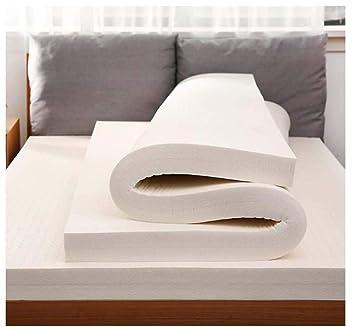 DADAO Colchón de látex Queen, Dormitorio sofá Tatami Hotel-colchón de látex tailandés para el Alivio del sueño del hogar y la presión de Apoyo,10cm ...