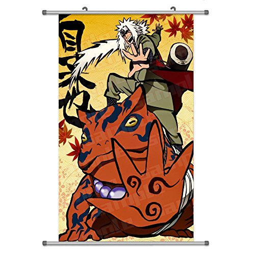 A Wide Variety of Naruto Anime Characters Wall Scroll Hangin