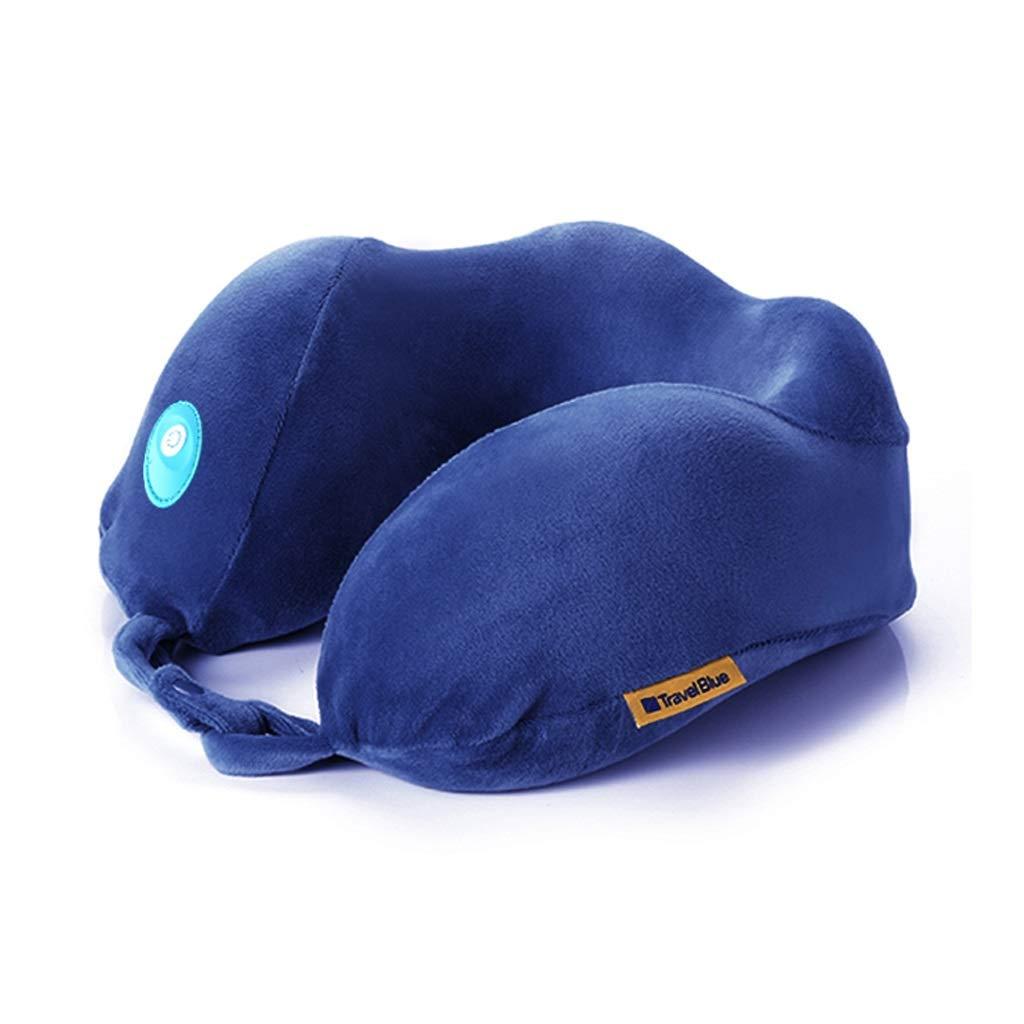 SMMRB U字型枕頸部マッサージ首マッサージ枕ホームU字型枕電気首保護 U字型の枕 B07QCRRXGZ