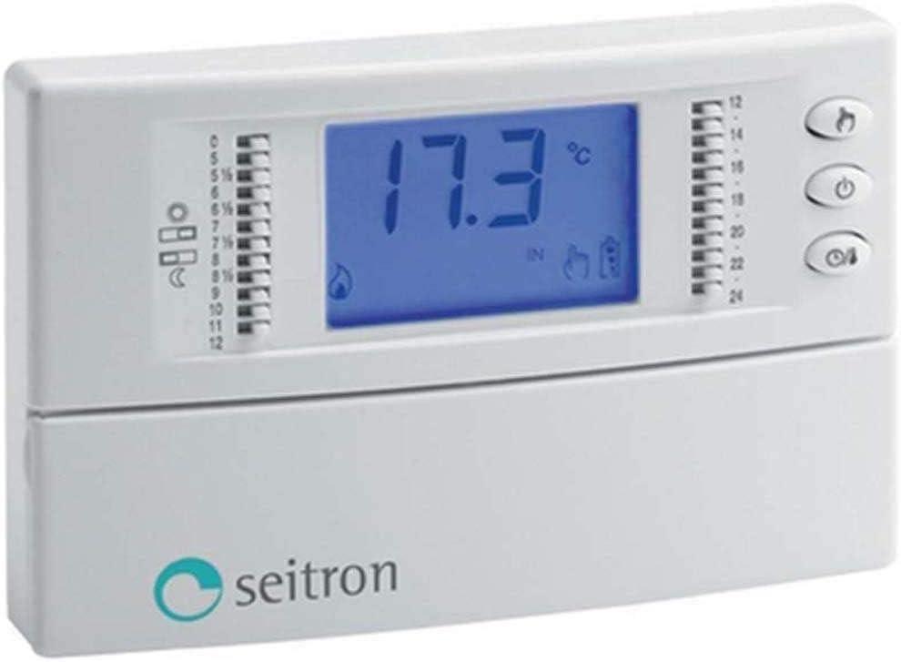 Cronotermostato digitale giornaliero-Freetime Plus Seitron modello TCD01B