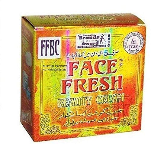 FFBC FACE FRESH WHITENING BEAUTY CREAM - Acne - Melasma - Dark Spots - Freckles - Scars (Best Face Whitening Cream In Pakistan)