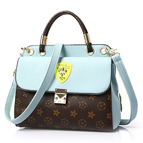 VINICIO Women's Elegant Lovely Joker Exquisite PU Leather Handbag Shoulder - Shopping Chicago Best Mall