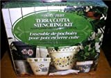 Patio Paint - Terra Cotta Stenciling Kit - Garden Delights