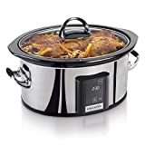 New Crock-Pot SCVT650-PS-A: Countdown Touchscreen Digital Slow Cooker, Polished Stai by Love Greenland