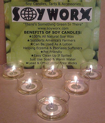 Acne Prone Skin 7 Piece (12 Piece Soy Tealight Candles Grapefruit Essential Oil By Soyworx)