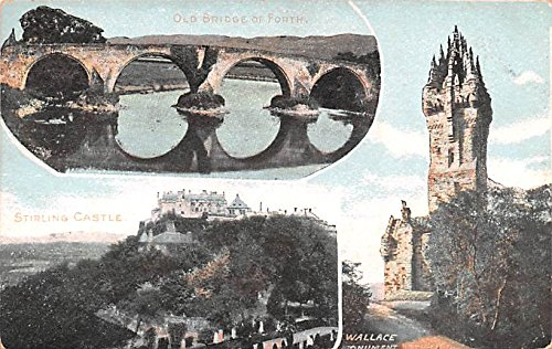 Wallace Monument - Stirling Castle Wallace Monument Scotland, UK Postcard