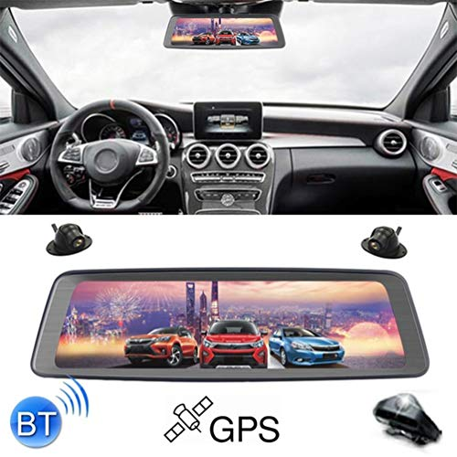 UFFD 10 inch 1080P Multi-Functional Smart Car ADAS Dual Lens Video Record Camera Support Motion detection/4G/gravity Sensor/Parking Monitoring/Loop Recording/WiFi/GPS