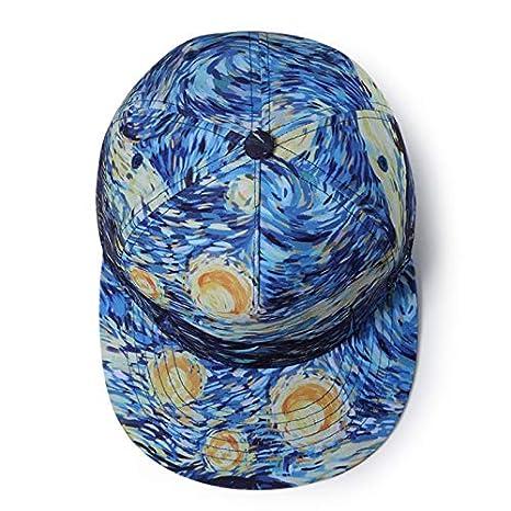 Cdet. 1x Sombrero de béisbol Moda impresión de Pintada Casual ...