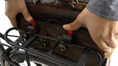 """Fahrradtasche Gusti Leder studio """"Paxton"""" mit Klickfix-Adapter Braun Laptoptasche Aktentasche Retro Braun 2B10-20-2wpk"""