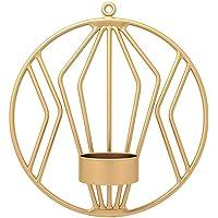 FICI 1pc Modern Art Geometric Candle Sconces práctico