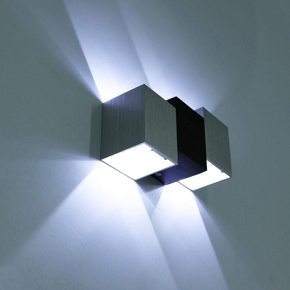 Luminaires Intérieur Appliques Louvra Applique Murale LED Intérieur 6W  Lampe Décorative Moderne Créatif Originale Éclairage Design ...