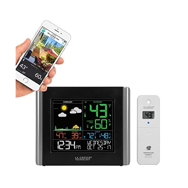 La Crosse Technology V10-TH-INT V10-TH Wireless WiFi Weather Station