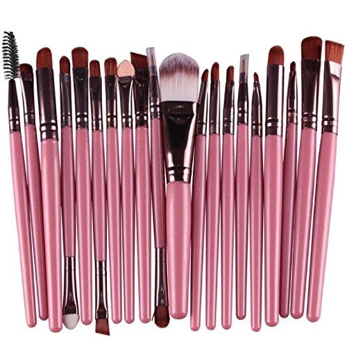Christmas, 20pcs/set Makeup Brush Set tools Make-up Toiletry Kit Wool Make Up Brush -
