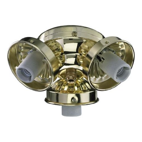 Quorum 2303-902, 3-Light Traditional Fitter, Polished Brass