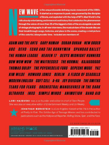 Mad world an oral history of new wave artists and songs that mad world an oral history of new wave artists and songs that defined the 1980s lori majewski jonathan bernstein moby nick rhodes 9781419710971 fandeluxe Choice Image