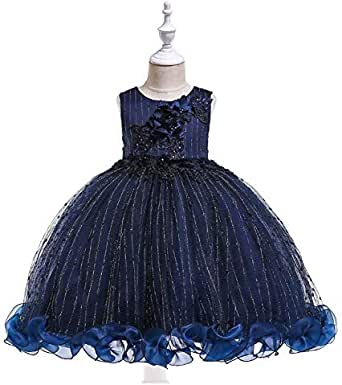 Girl Dress Lace Dress Princess Style Tutu Mesh Dress Bow Dress