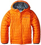 Columbia Little Boys' Powder Lite Puffer Jacket, Tangy Orange, XX-Small