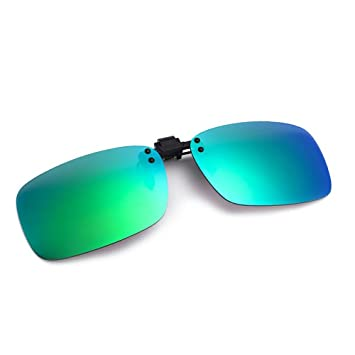 a00492ec84 Cyxus polarizado reflejado lentes clásico gafas de sol Gafas con clip [Anti  reflejante] Protección