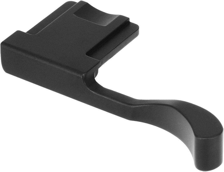 Haoge THB-X2B Metal Hot Shoe Thumb Up Rest Hand Grip for Fujifilm Fuji X100V Camera Black