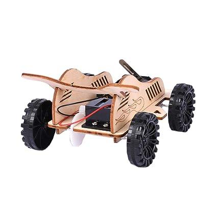 Buy Homyl DIY Wind Power Go-Kart Car Set Toys Assembling Kits