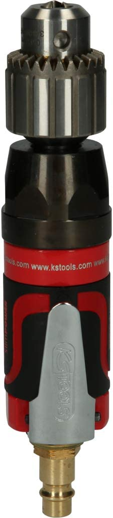 KS Tools 515.5520 Mini-perceuse droite pneumatique slimPOWER Blanc