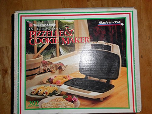 Toastmaster Pizzelle & International Cookie Maker Model 292