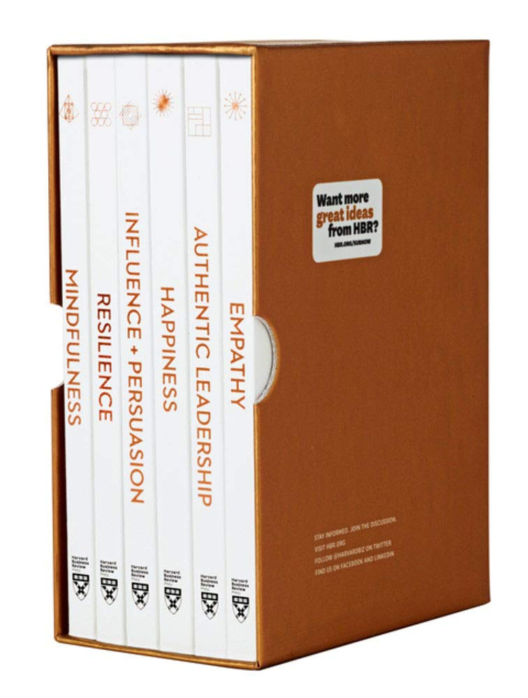 HBR Emotional Intelligence Boxed Set (6 Books) (HBR Emotional Intelligence Series) by Harvard Business Review Press