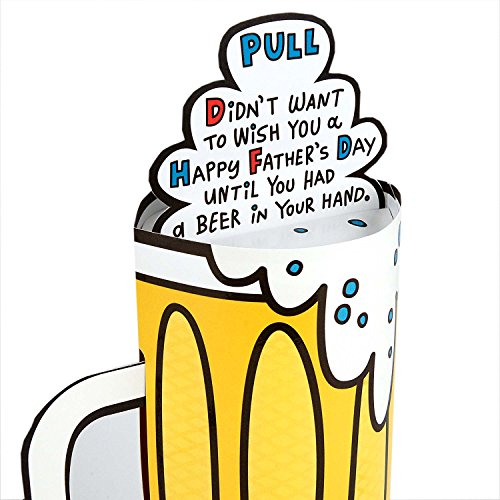 Hallmark Funny Father's Day Greeting Card (Pop-Up Beer Stein) Photo #4
