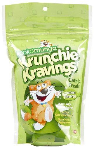 8in1 Kookamunga Krunchie Kravings Catnip Treats - Chicken - 5 oz (Pack of 2)
